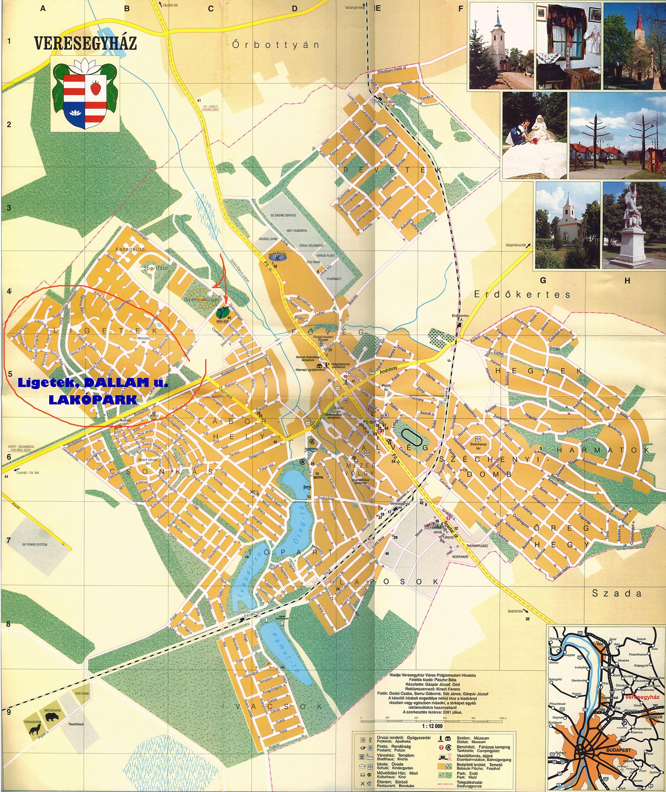 veresegyház térkép Veresegyház